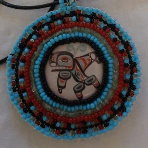 Jewelry - Seed beads pendants